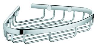 Grohe Europlus Kitchen Faucet by Grohe Baucosmo Shower Caddy 40664001 Chrome Supply Com