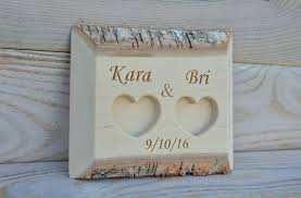 Wedding Ring Holder by 39 00 Usd Personalized Birch Wood Ring Box Rustic Wedding Ring