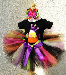 Candy Princess Halloween Costume Candy Corn Princess Tiara Halloween Tutu