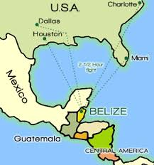 south america map belize belize country info faqs