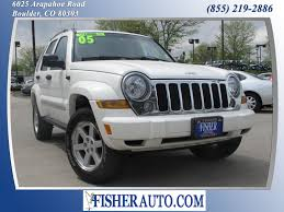 2005 jeep liberty safety rating 2005 jeep liberty limited white 9 900 boulder colorado