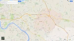 Maps Pennsylvania by Monroeville Pennsylvania Map