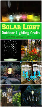 solar lights for craft projects diy solar light craft ideas for home and garden lighting