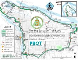 Portland Trails Map by Best Bike Rides Around Portland Maplets