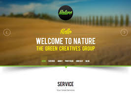 one page modx themes