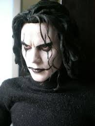 the crow facepaint