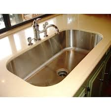 30 inch stainless steel undermount single bowl kitchen sink 18 gauge