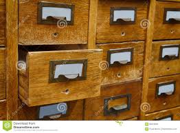 opened box archive storage filing cabinet interior vintage
