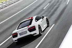 audi r8 goes rear wheel drive at the 2017 frankfurt motor show by