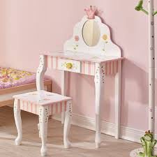 Guidecraft Princess Table And Chairs Amazon Com Teamson Design Fantasy Fields Princess U0026 Frog Vanity