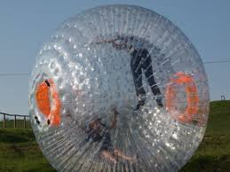 commercial grade outside humans sized zorb for