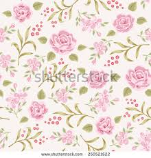 Shabby Chic Rose by Shabby Chic Rose Pattern Floral Seamless Stock Vector 139905892