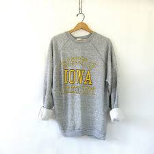 iowa hawkeye sweater vintage iowa hawkeyes sweatshirt from birdies