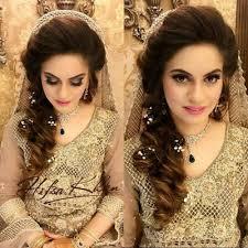 hair styles pakistan stylish and trendy pakistani bridal wedding hairstyle