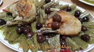amour et cuisine tajine de cardons aux olives amour de cuisine