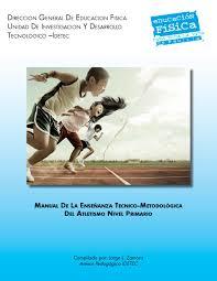 manual de la ensenanza tecnico metodologia del atletismo nivel