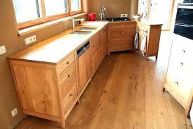 cuisines bois massif cuisine bois naturel cuisine bois massif brut 9n7ei com