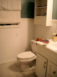 Wainscoting Kits Ireland Faux Wood Paneling In Bathroom Midsized Mountain Style Master