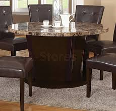 54 round table pad sale 872 00 danville 54 round marble top dining table brown with