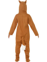 child fox onesie costume 44074 fancy dress ball