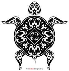 turtle tattoos polynesian and hawaiian tribal turtle designs