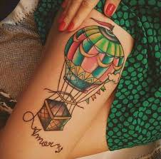 53 best air balloon tattoos images on pinterest globe