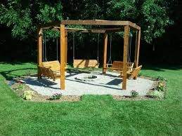 Firepit Swing Build Your Own Pit Swing Set Diy Projects For Everyone