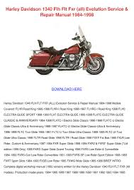 harley davidson 1340 flh flt fxr all evolutio by janay grogan issuu