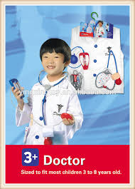 halloween party cosplay clothes for kids naughty doctor costume