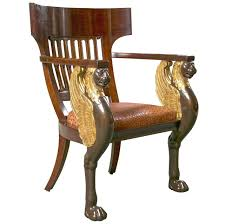 superior empire period furniture french empire style chair by