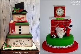 christmas cakes for children cake geek magazine