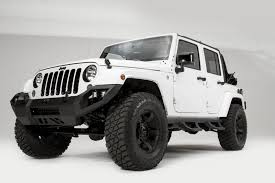 jeep truck black side steps fab fours