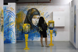 street art in morocco al jazeera