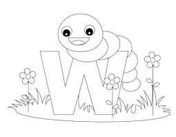 the most awesome along with stunning letter w coloring pages