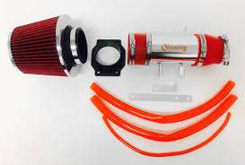 nissan frontier engine air filter red air intake system kit filter for 1999 2004 nissan frontier