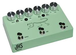 jhs delay jhs panther analog delay pedal in surf green humbucker