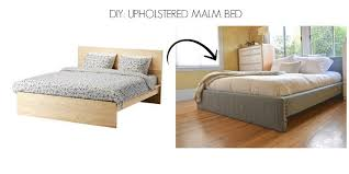Ikea Malm Bed Frame Instructions Diy Upholstered Malm Bed U2022 They Call Her Flipper