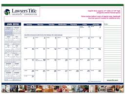 lawyers title print shop desk pad calendars