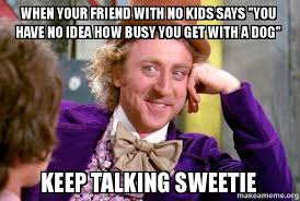 No Kids Meme - when your friend with no kids says you have no idea how busy you