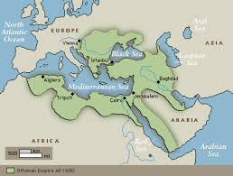 Map Of Ottoman Empire 1500 Quia The World At 1500 Ce