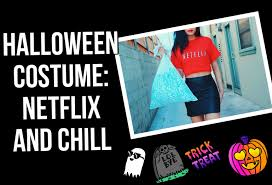 halloween costume netflix and chill make your own lexi noel tmq