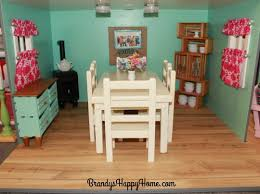 american doll dining table american dollhouse