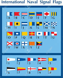 Semaphore Flag International Naval Signal Flags Royalty Free Cliparts Vectors
