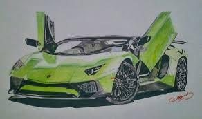lamborghini sketch lamborghini aventador sv ayush chaudhary draw to drive