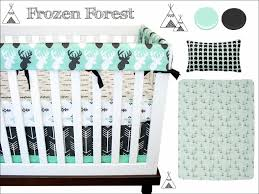 Baby Deer Crib Bedding Furniture Nature Themed Baby Bedding Deer Crib Sets Baby Crib