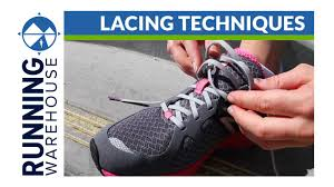 Shoo Vs how to lace running shoes for your best fit and improved comfort