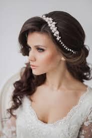 Hochsteckfrisurenen Hochzeit Mit Haarreif by Offene Haare Mit Pony Perlen Haarband Unbedingt Kaufen