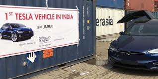 tesla vehicles are now being privately imported in india as