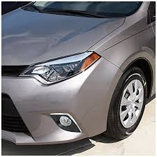 toyota corolla fog lights 2015 toyota corolla do not fit s models replacement fog lights clear