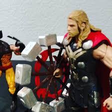 thor 3d printed spinning hammer for marvel legends 6 inch figures